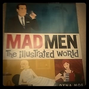 MAD MEN Official Book 'The Illustrated World'